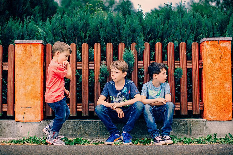Familienfotos in Hemsbach