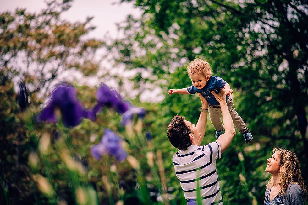 Familienfotograf Luisenpark Mannheim